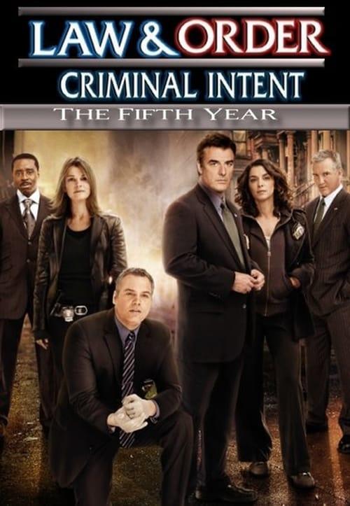 Watch Law & Order: Criminal Intent Season 5 in English Online Free