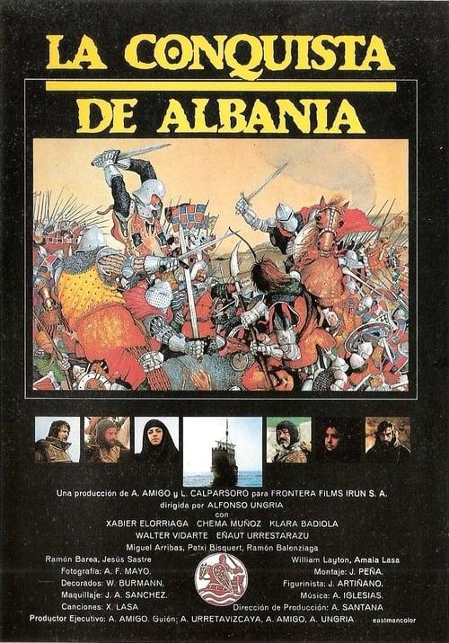 La conquista de Albania