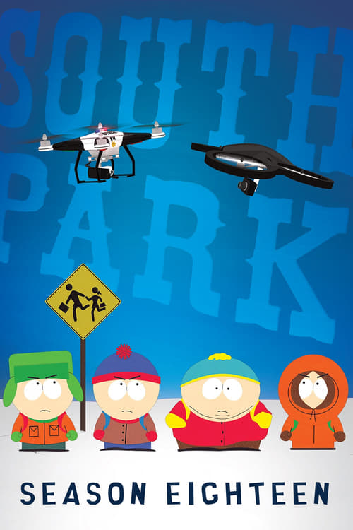 Watch South Park Season 18 in English Online Free