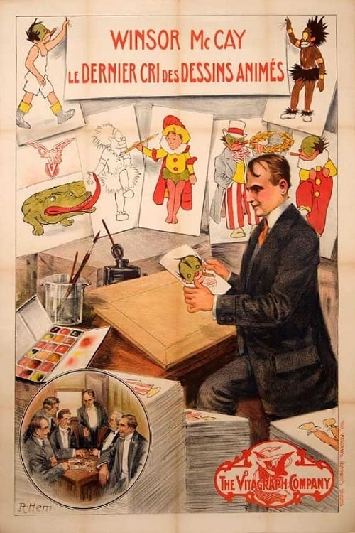 Winsor McCay, the Famous Cartoonist of the N.Y. Herald and His Moving Comics