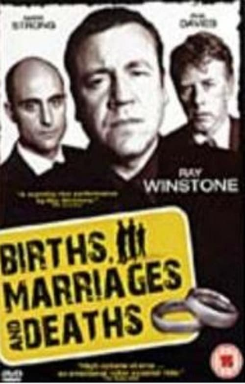 Births Marriages and Deaths poster