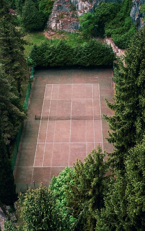 Tennis Courts (Trilogy)