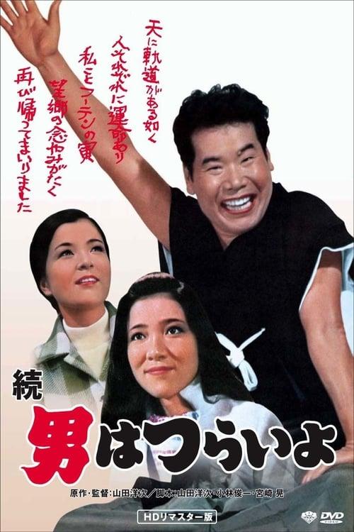 Largescale poster for Zoku otoko wa tsurai yo