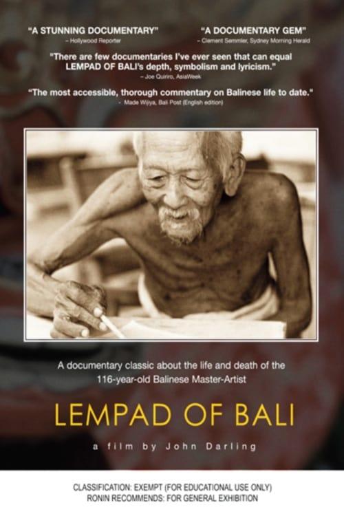 Watch Lempad of Bali Full Movie Download
