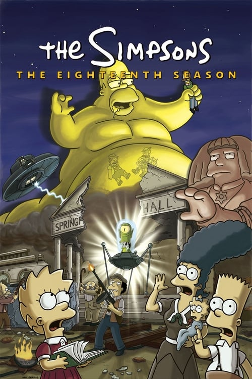 Watch The Simpsons Season 18 in English Online Free