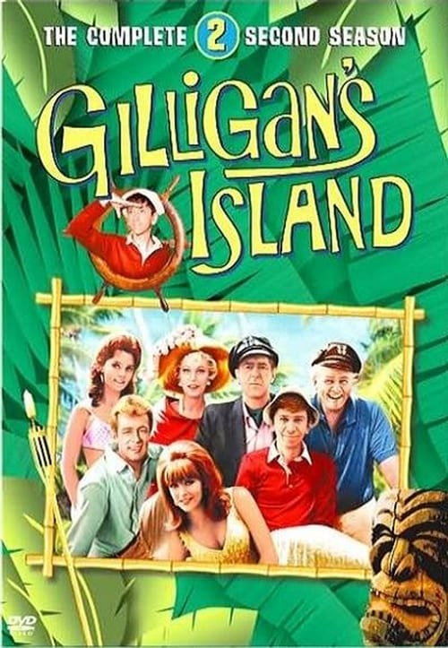 an overview of the giligan and the professor on an island