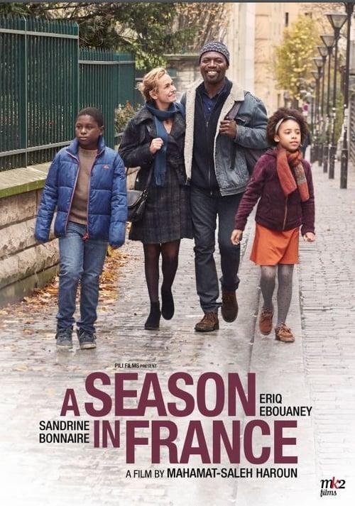 Une saison en France poster