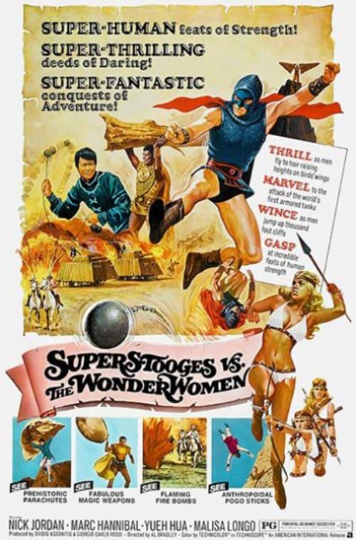 Super Stooges vs the Wonder Women