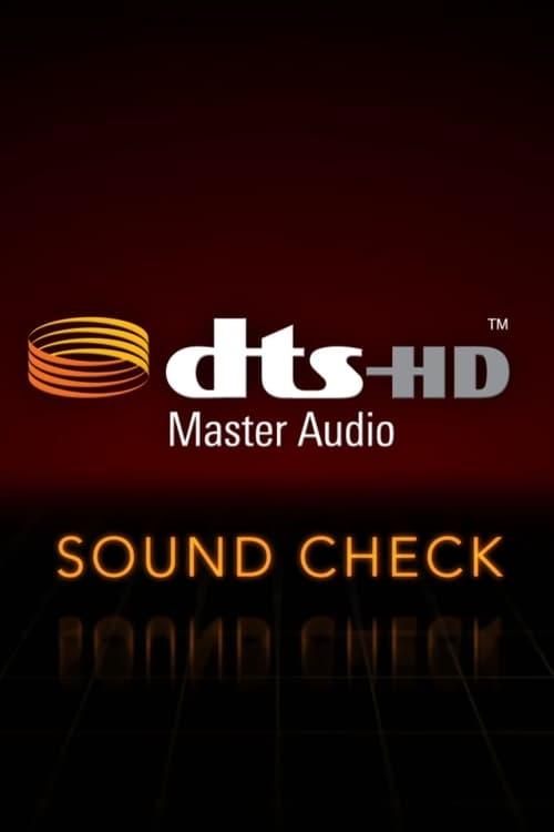 DTS HD Master Audio SOUND CHECK