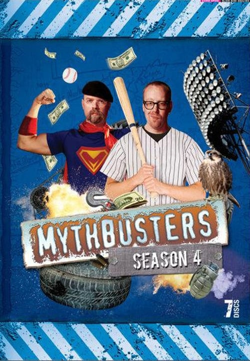 Watch MythBusters Season 4 in English Online Free