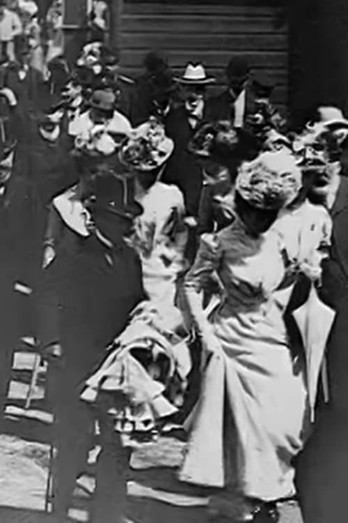 Aankomst der vredesconferentie te Haarlem, 4 Juni 1899