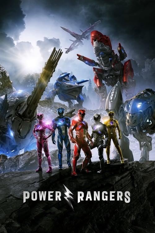 Power Rangers poster