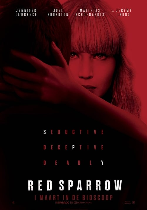 Red Sparrow poster