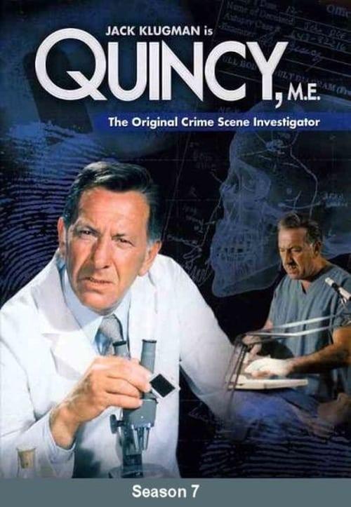 Watch Quincy, M.E. Season 7 Full Movie Download