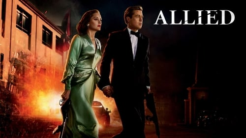Watch Allied (2016) in English Online Free | 720p BrRip x264