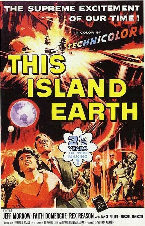 This Island Earth poster
