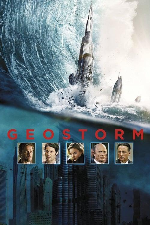 Geostorm poster
