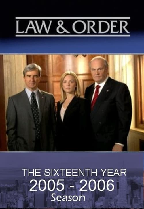 Watch Law & Order Season 16 in English Online Free