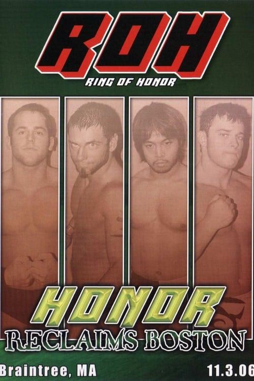 ROH Honor Reclaims Boston