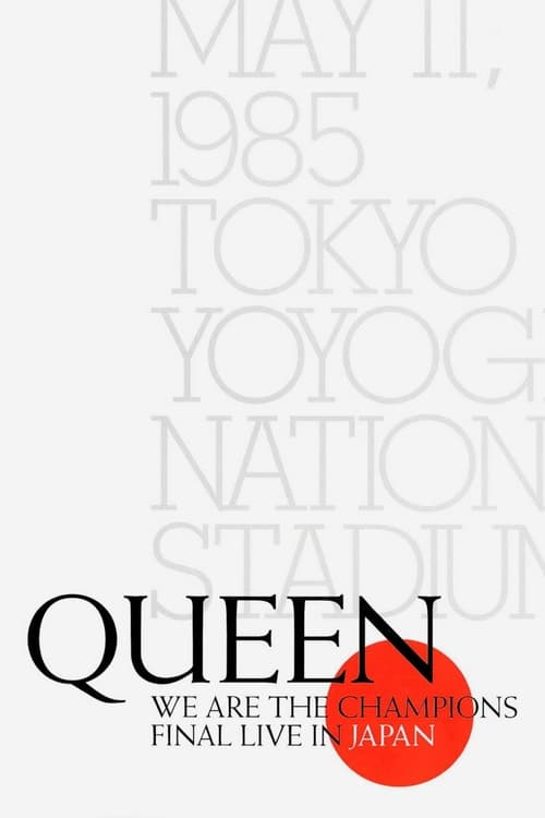 Queen - We Are The Champions - Final Live In Japan
