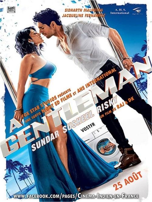 A Gentleman: Sundar, Susheel, Risky poster