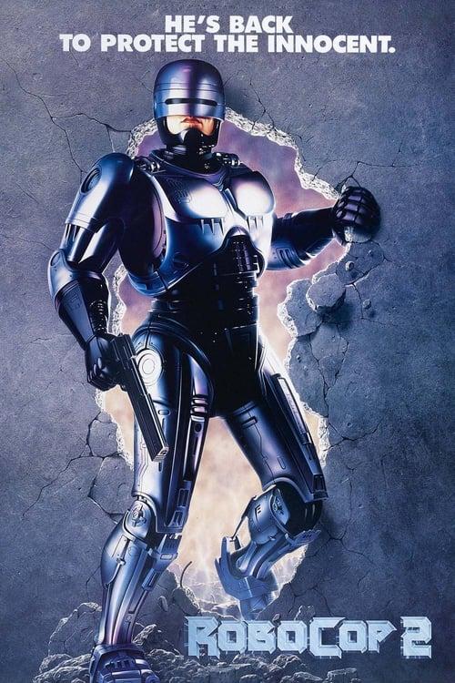 RoboCop 2 poster
