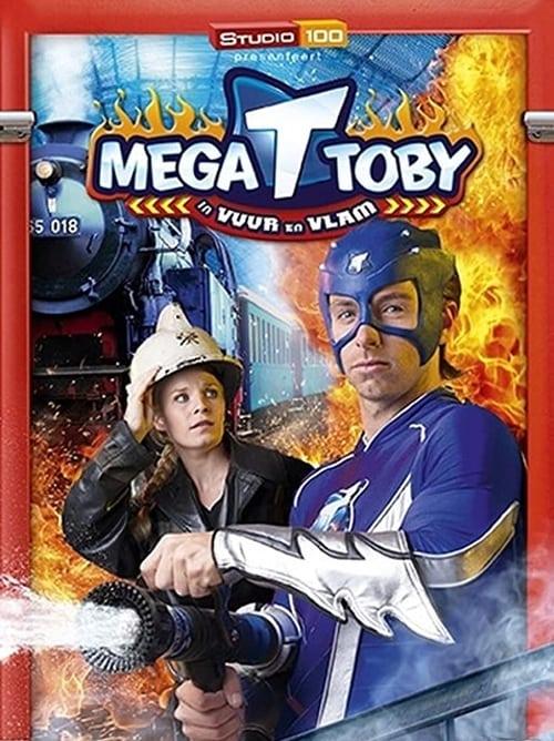 Mega Toby in vuur en vlam