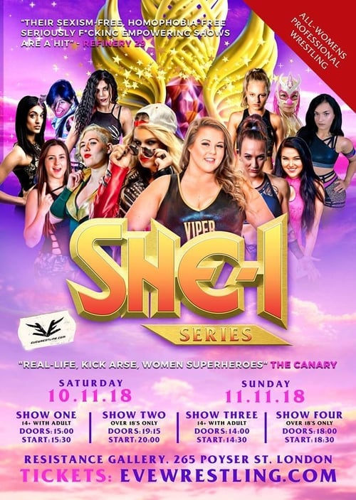 EVE SHE-1: Ace Of EVE 2018 - Day 1: Show #1