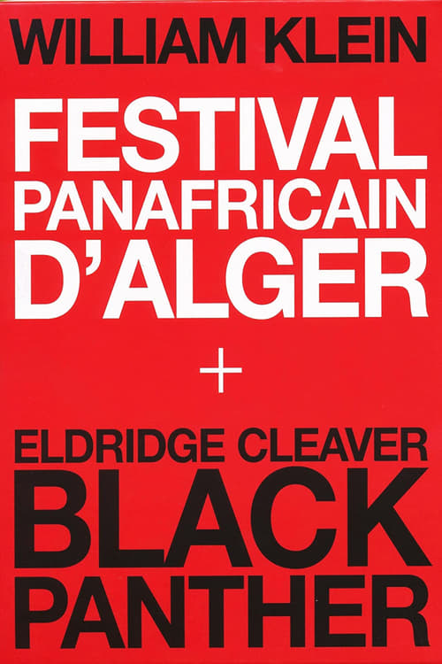 The Panafrican Festival in Algiers
