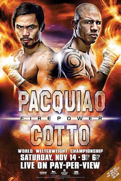Manny Pacquiao vs. Miguel Cotto