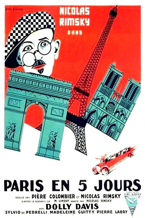 Paris en cinq jours
