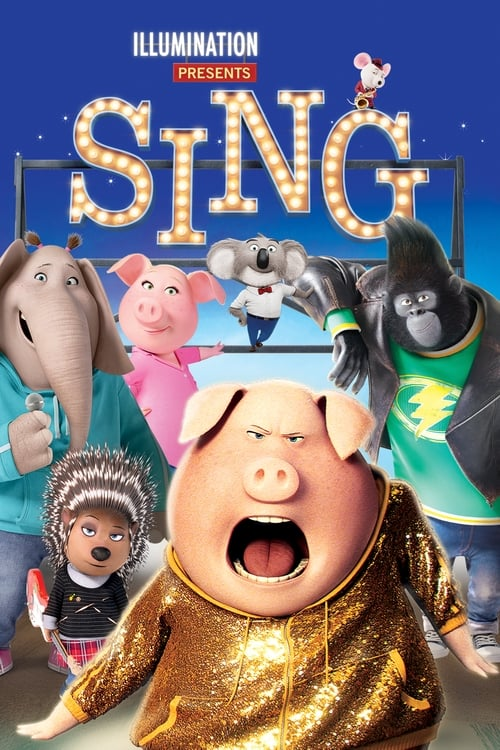 Watch Sing (2016) in English Online Free