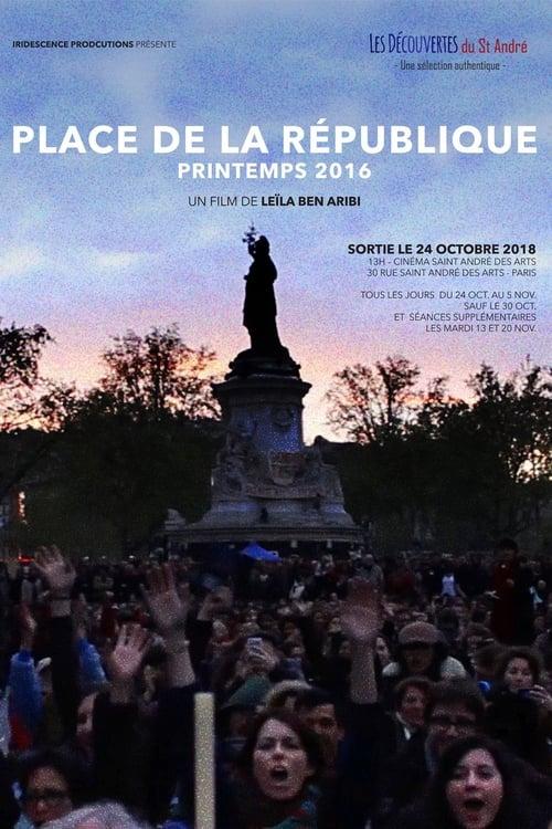 Place de la République, printemps 2016