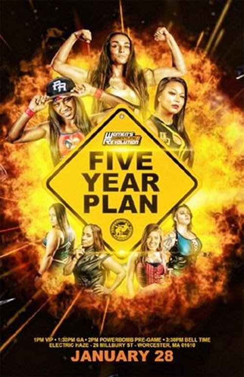 Women's Wrestling Revolution WWR Five Year Plan