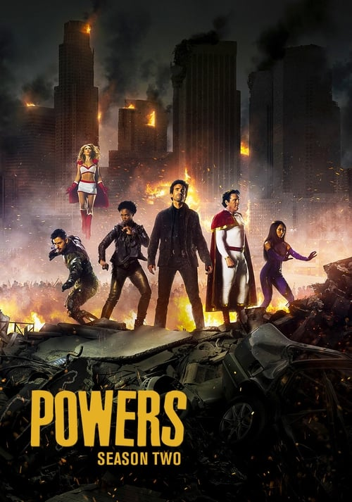 Watch Powers Season 2 in English Online Free