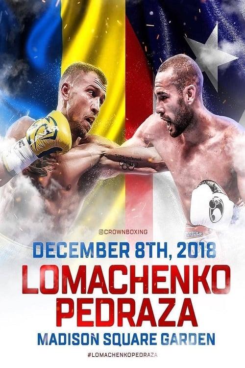 Vasiliy Lomachenko vs Jose Pedraza
