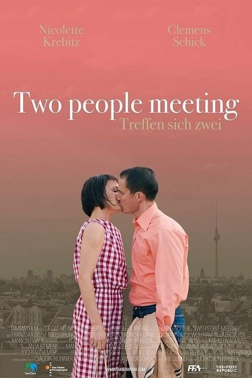 Two People Meeting