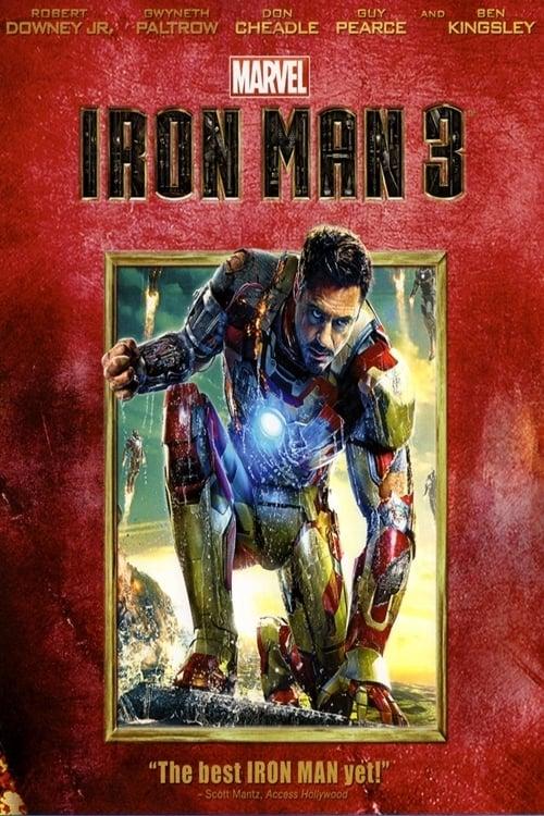 Iron Man 3 Unmasked poster