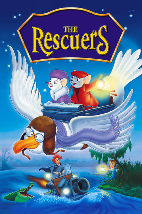 The Rescuers poster