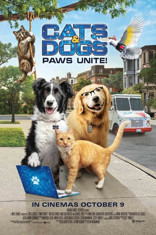 Cats and Dogs 3 Paws Unite