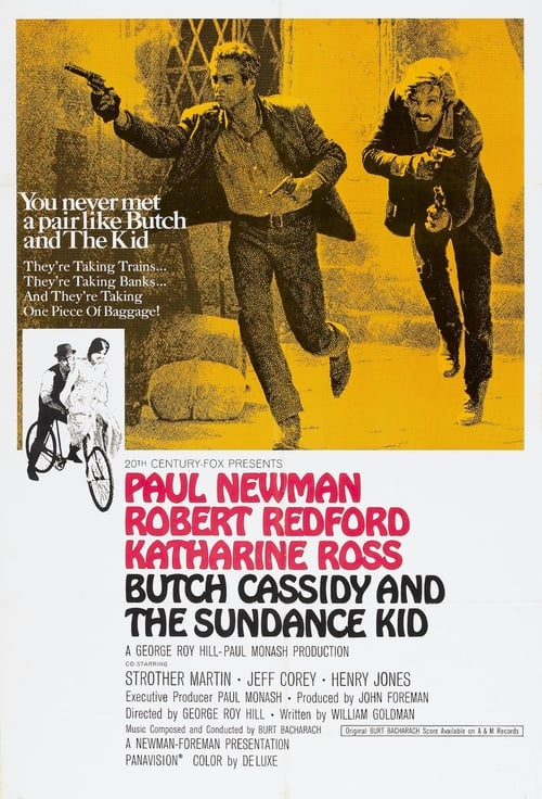 Watch Butch Cassidy and the Sundance Kid (1969) in English Online Free