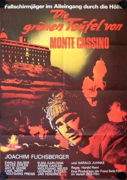 Largescale poster for Die grünen Teufel von Monte Cassino