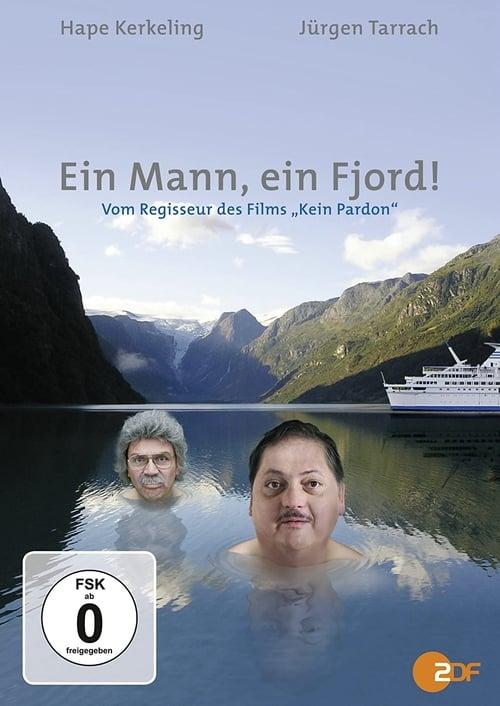 A man, a fjord!