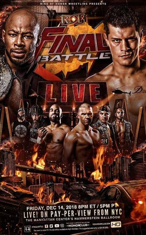 ROH Final Battle 2018