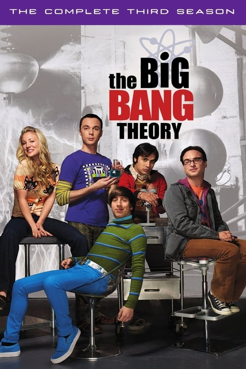 Watch The Big Bang Theory Season 3 in English Online Free