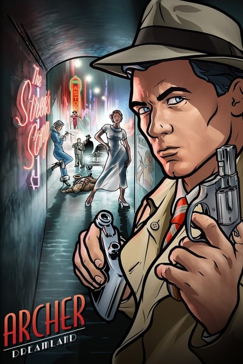 Watch Archer (2009) in English Online Free | 720p BrRip x264