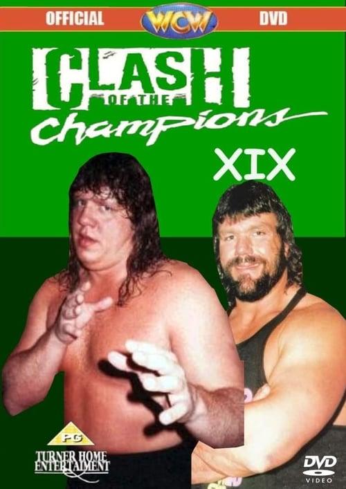 WCW Clash of The Champions XIX