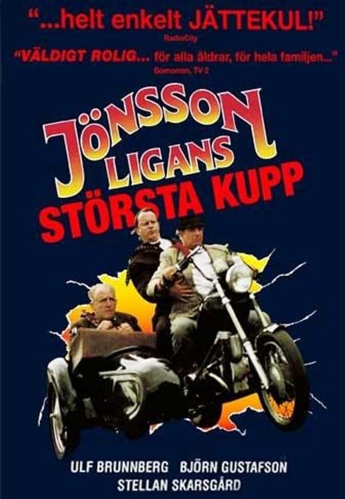 Jönssonligans största kupp poster