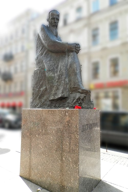 Petersburg Diary - Opening of the monument to Dostoevsky