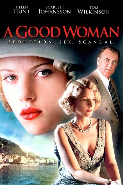 A Good Woman poster